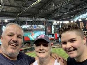 David attended Arizona Diamondbacks vs. Colorado Rockies - MLB Brought to You by the Vfw on Aug 20th 2019 via VetTix