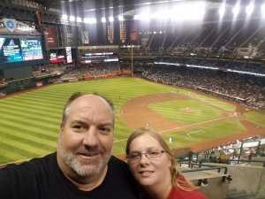 Donald attended Arizona Diamondbacks vs. Colorado Rockies - MLB Brought to You by the Vfw on Aug 20th 2019 via VetTix