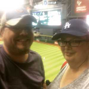 Joshua attended Arizona Diamondbacks vs. Colorado Rockies - MLB Brought to You by the Vfw on Aug 20th 2019 via VetTix