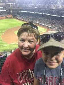 Melissa attended Arizona Diamondbacks vs. Colorado Rockies - MLB Brought to You by the Vfw on Aug 20th 2019 via VetTix
