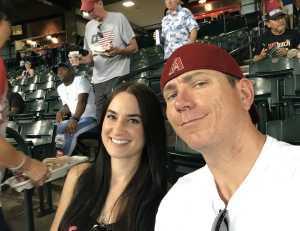 Drew attended Arizona Diamondbacks vs. Colorado Rockies - MLB Brought to You by the Vfw on Aug 20th 2019 via VetTix