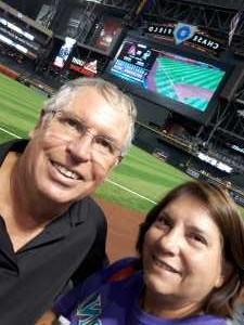 John attended Arizona Diamondbacks vs. Colorado Rockies - MLB Brought to You by the Vfw on Aug 20th 2019 via VetTix