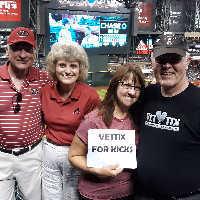 Kenneth B attended Arizona Diamondbacks vs. Colorado Rockies - MLB Brought to You by the Vfw on Aug 20th 2019 via VetTix