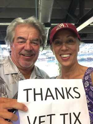 Michael attended Arizona Diamondbacks vs. Colorado Rockies - MLB Brought to You by the Vfw on Aug 20th 2019 via VetTix