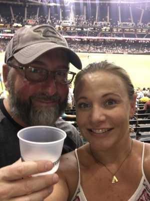 Mike B attended Arizona Diamondbacks vs. Colorado Rockies - MLB Brought to You by the Vfw on Aug 20th 2019 via VetTix