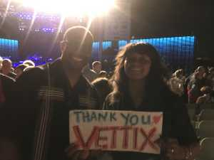 Sam and von attended Dionne Warwick - Reserved Seating on Aug 16th 2019 via VetTix