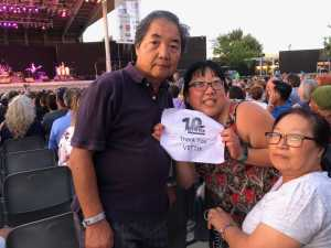 Hanna attended Dionne Warwick - Reserved Seating on Aug 16th 2019 via VetTix