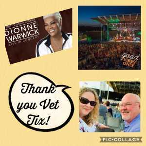 Richard attended Dionne Warwick - Reserved Seating on Aug 16th 2019 via VetTix