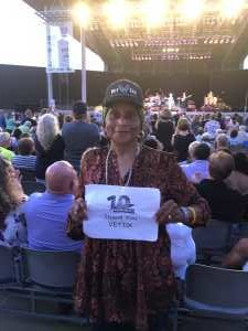 Sandra attended Dionne Warwick - Reserved Seating on Aug 16th 2019 via VetTix
