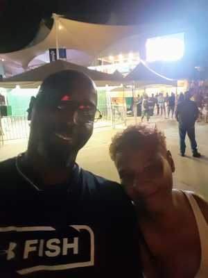 Terrence attended MC Hammer's House Party on Aug 3rd 2019 via VetTix