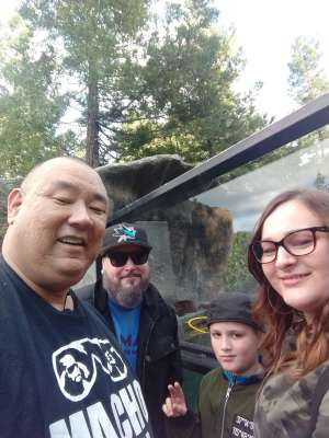 Thomas attended Oakland Zoo - Guest Pass *valid Through July 31st 2020 on Jan 1st 2020 via VetTix