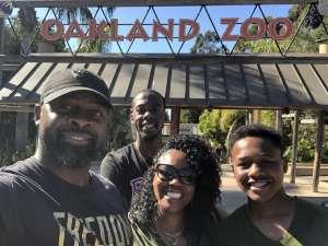 Shari attended Oakland Zoo - Guest Pass *valid Through July 31st 2020 on Jan 1st 2020 via VetTix