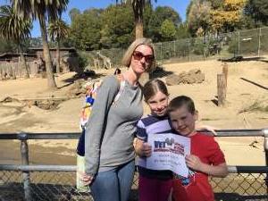 Shana attended Oakland Zoo - Guest Pass *valid Through July 31st 2020 on Jan 1st 2020 via VetTix