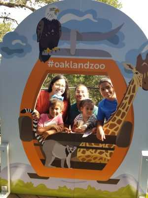 Spc Romero US Army Ret. attended Oakland Zoo - Guest Pass *valid Through July 31st 2020 on Aug 15th 2019 via VetTix