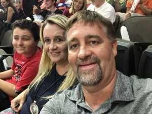 Steven attended Jacksonville Sharks  - 2019 NAL Playoffs! on Aug 6th 2019 via VetTix