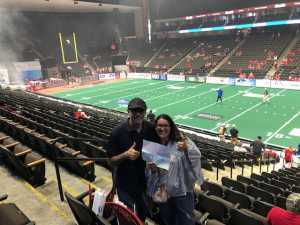 Rob attended Jacksonville Sharks  - 2019 NAL Playoffs! on Aug 6th 2019 via VetTix