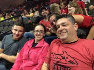 Stuart attended Jacksonville Sharks  - 2019 NAL Playoffs! on Aug 6th 2019 via VetTix