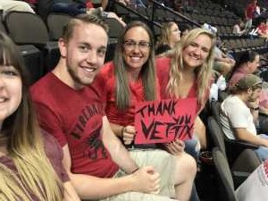 Sara attended Jacksonville Sharks  - 2019 NAL Playoffs! on Aug 6th 2019 via VetTix