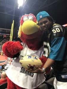 Anthony attended Jacksonville Sharks  - 2019 NAL Playoffs! on Aug 6th 2019 via VetTix
