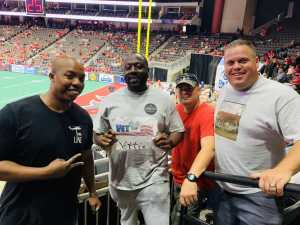 lavard attended Jacksonville Sharks  - 2019 NAL Playoffs! on Aug 6th 2019 via VetTix