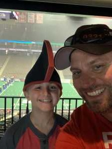 James attended Jacksonville Sharks  - 2019 NAL Playoffs! on Aug 6th 2019 via VetTix