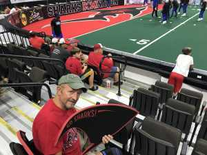 Curtis attended Jacksonville Sharks  - 2019 NAL Playoffs! on Aug 6th 2019 via VetTix