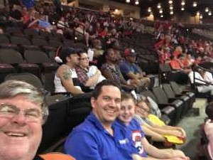 David attended Jacksonville Sharks  - 2019 NAL Playoffs! on Aug 6th 2019 via VetTix