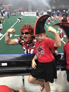 Swanagans  attended Jacksonville Sharks  - 2019 NAL Playoffs! on Aug 6th 2019 via VetTix
