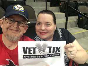 Christopher attended Jacksonville Sharks  - 2019 NAL Playoffs! on Aug 6th 2019 via VetTix