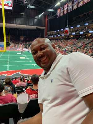 John attended Jacksonville Sharks  - 2019 NAL Playoffs! on Aug 6th 2019 via VetTix