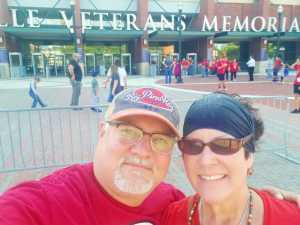 CARY attended Jacksonville Sharks  - 2019 NAL Playoffs! on Aug 6th 2019 via VetTix