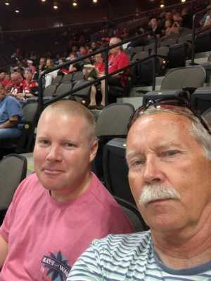 Derek Richardson attended Jacksonville Sharks  - 2019 NAL Playoffs! on Aug 6th 2019 via VetTix