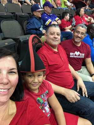 Stro attended Jacksonville Sharks  - 2019 NAL Playoffs! on Aug 6th 2019 via VetTix