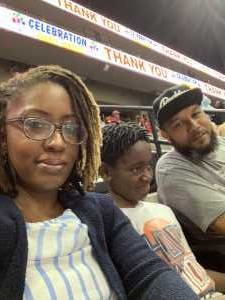 Rabbina attended Jacksonville Sharks  - 2019 NAL Playoffs! on Aug 6th 2019 via VetTix