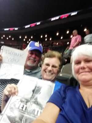 Patricia attended Jacksonville Sharks  - 2019 NAL Playoffs! on Aug 6th 2019 via VetTix