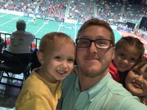 Cody attended Jacksonville Sharks  - 2019 NAL Playoffs! on Aug 6th 2019 via VetTix