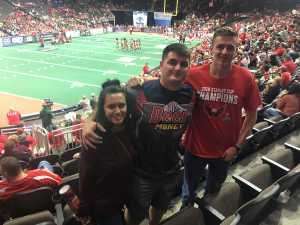 Alec attended Jacksonville Sharks  - 2019 NAL Playoffs! on Aug 6th 2019 via VetTix