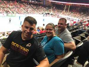 Mike attended Jacksonville Sharks  - 2019 NAL Playoffs! on Aug 6th 2019 via VetTix