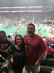 Carl attended Jacksonville Sharks  - 2019 NAL Playoffs! on Aug 6th 2019 via VetTix