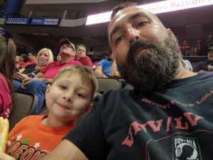 Christopher attended Jacksonville Sharks  - 2019 NAL Playoffs! on Aug 6th 2019 via VetTix