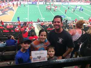 Davin attended Jacksonville Sharks  - 2019 NAL Playoffs! on Aug 6th 2019 via VetTix