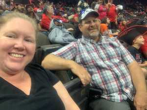 Melissa attended Jacksonville Sharks  - 2019 NAL Playoffs! on Aug 6th 2019 via VetTix