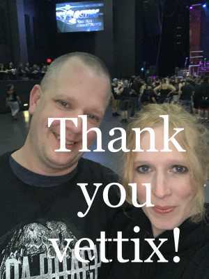 David attended Papa Roach with Asking Alexandria and Bad Wolves on Aug 13th 2019 via VetTix