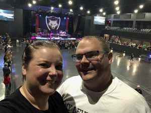 Robert attended Papa Roach with Asking Alexandria and Bad Wolves on Aug 13th 2019 via VetTix