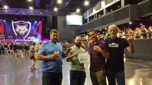 Bradley attended Papa Roach with Asking Alexandria and Bad Wolves on Aug 13th 2019 via VetTix