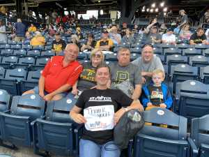 Click To Read More Feedback from Pittsburgh Pirates vs. Cincinnati Reds - MLB **armed Forces Night**