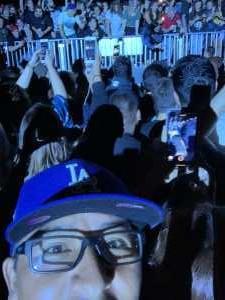 Christopher attended Blink-182 & Lil Wayne on Aug 27th 2019 via VetTix