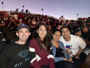 John attended Blink-182 & Lil Wayne on Aug 27th 2019 via VetTix