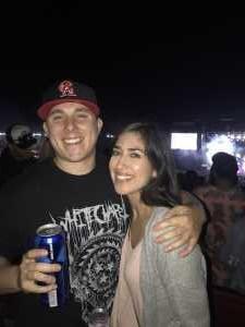 Joshua attended Blink-182 & Lil Wayne on Aug 27th 2019 via VetTix