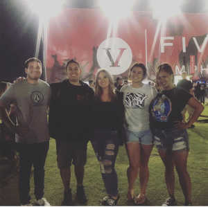 Kristofer attended Blink-182 & Lil Wayne on Aug 27th 2019 via VetTix